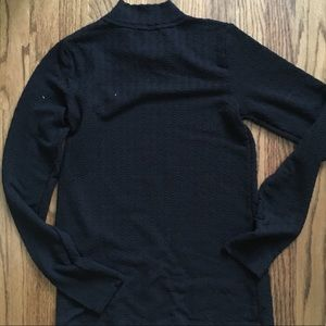 Anthropologie Sweaters - ANTHRO POSTAGE STAMP Embossed Knit Mock S